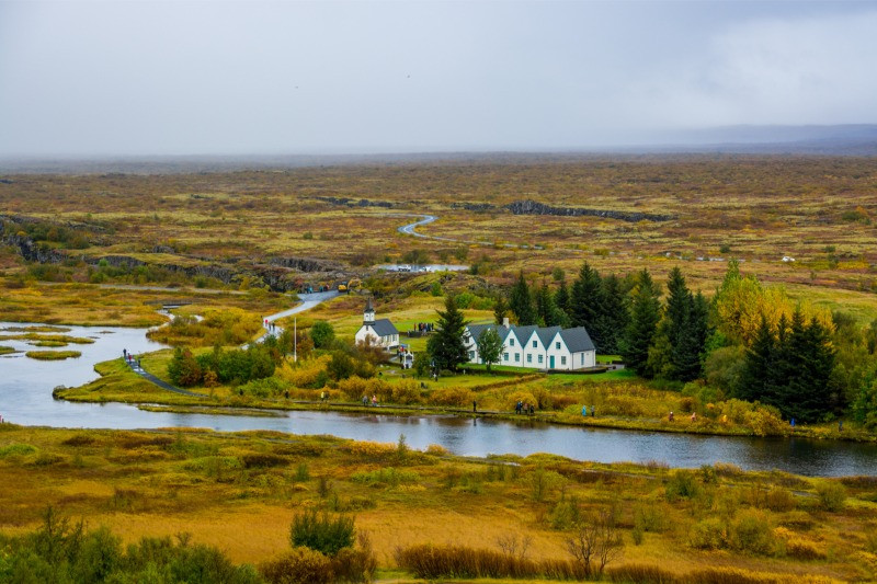 Þingvallakirkja in Thingvellir National Park