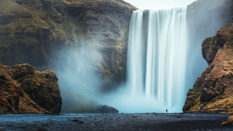 Skogafoss is always on the top list of waterfalls in Iceland