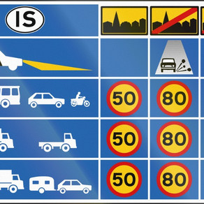 Speed Limits in Iceland and Restrictions