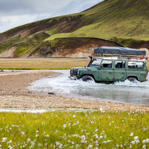 Crossing Rivers in Iceland