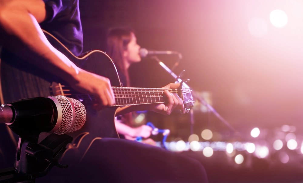 band playing live music is a must in the reykjavik nightlife scene