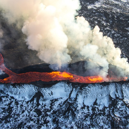 Active Volcanoes Near Reykjavik, Iceland You can Hike