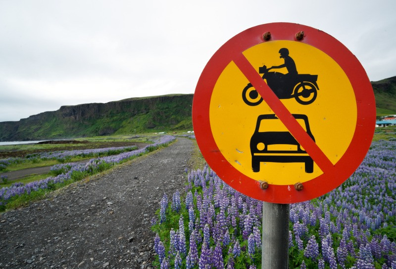 limites de velocidad islandia