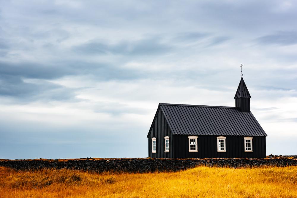 Chiesa nera penisola di Snaefellsnes