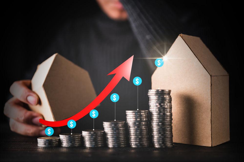 Infograma de la subida de los precios de la vivienda en Islandia