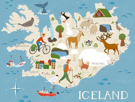 Mapa de Islandia: El Mejor Viaje