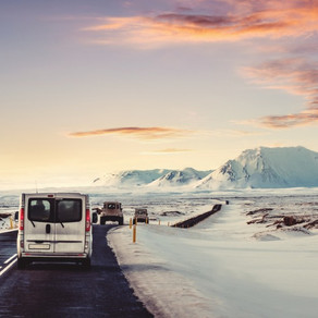 Preparing For Driving in Winter in Iceland