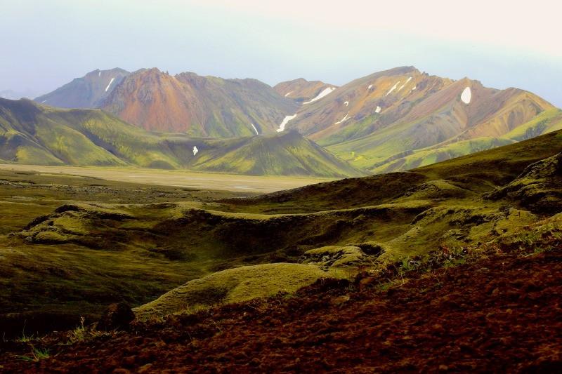 The colourful hills of Landmannalaugar Iceland