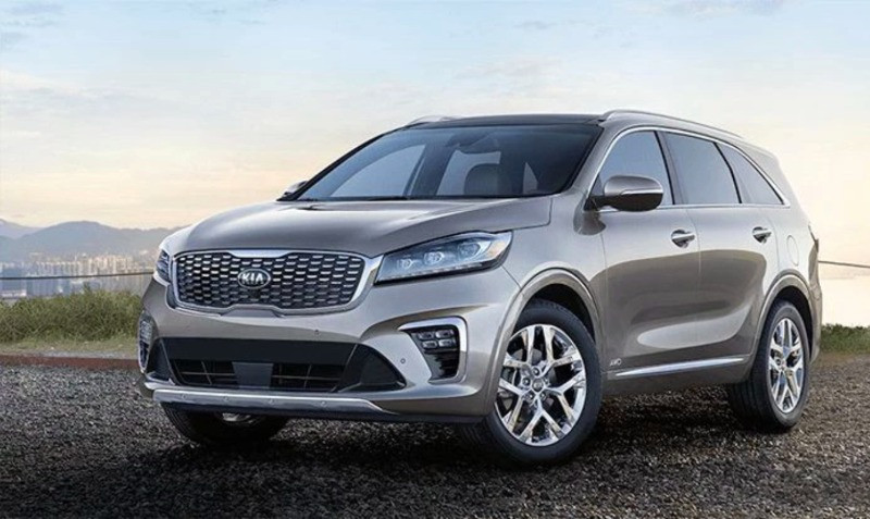 The Kia Sorento 4x4 7-seater is the best road trip car for big groups and large families