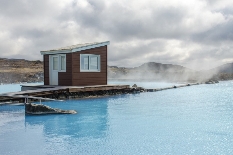 The Myvatn Nature Baths are an off-the-beaten-path Iceland spa