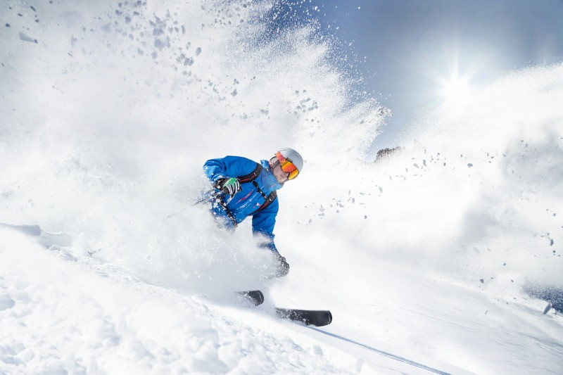 Skiing is one of the best winter vacations