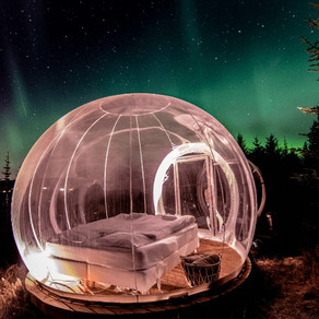 Bubble Hotel in Iceland & Glamping Options