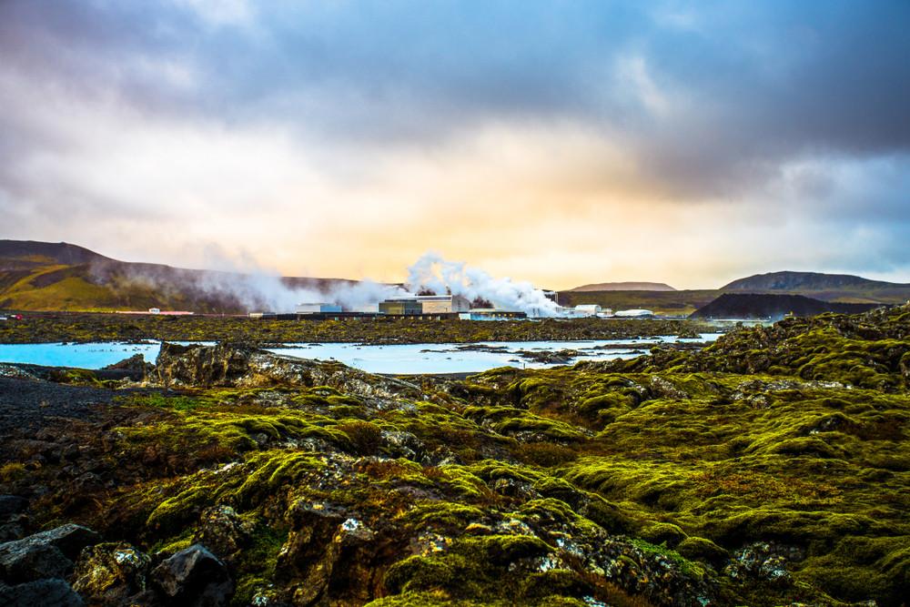 Grindavik, a geothermal areas in the Reykjanes Peninsula