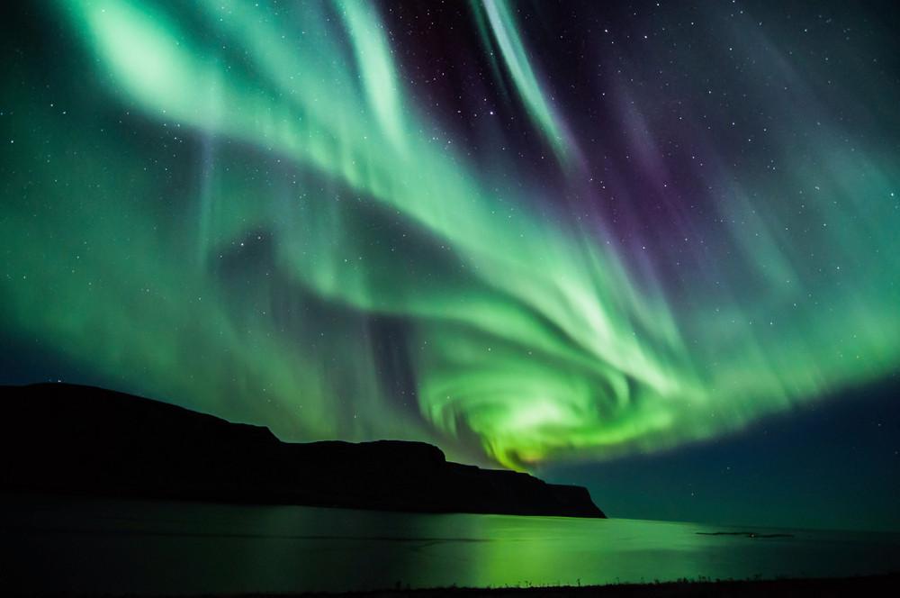 Las auroras boreales son una de las razones principales para visitar Islandia