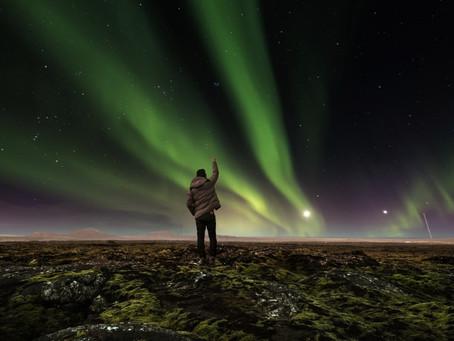 A la Caza de Auroras Boreales en Islandia