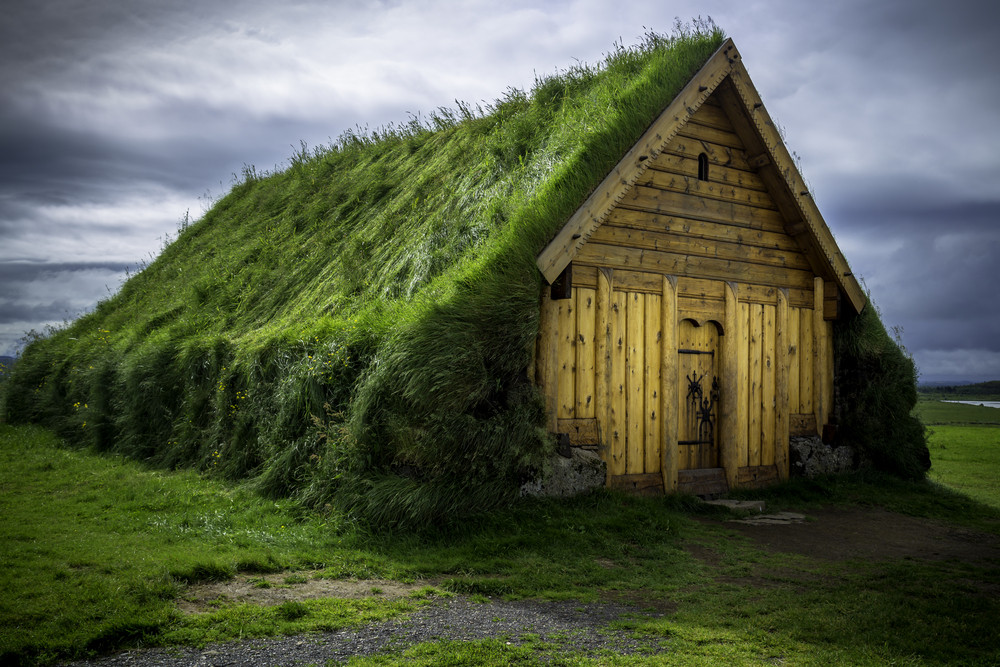 Typical turf house close to the Golden Circle