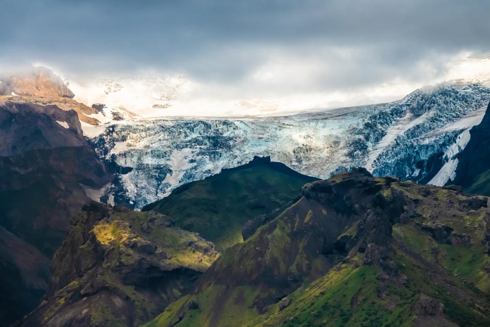 Vulcano Katla sotto il ghiacciaio
