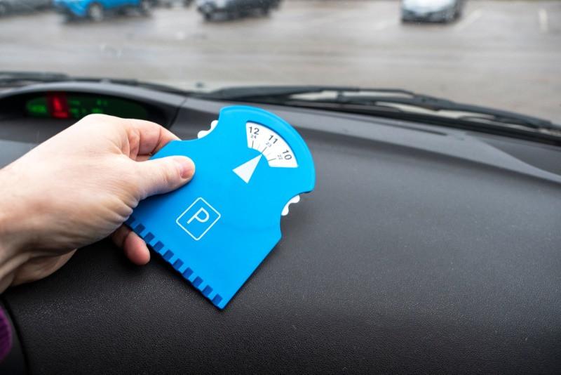 Medidor de tiempo para aparcar en Reikiavik