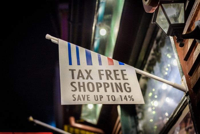 Tax free shopping store in Iceland