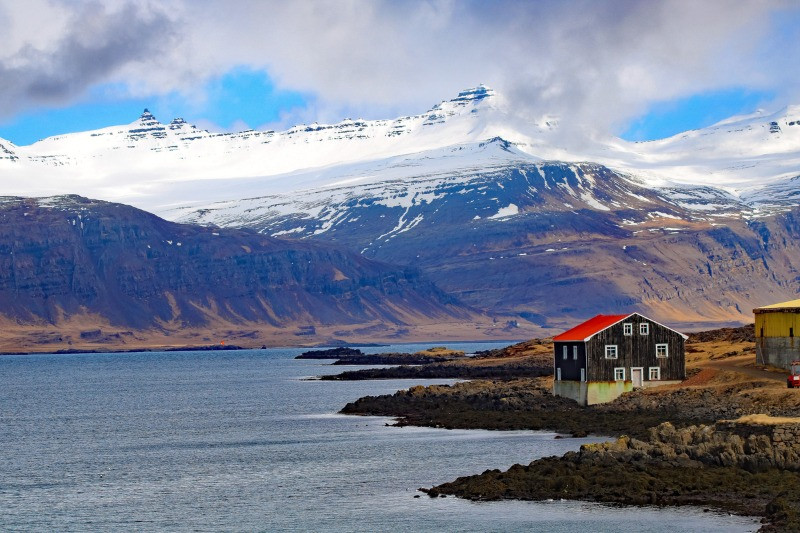 Beautiful Icelandic house in remote East Iceland