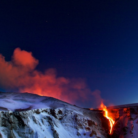 Eyjafjallajökull Volcano: The Merging of Fire and Ice in South Iceland