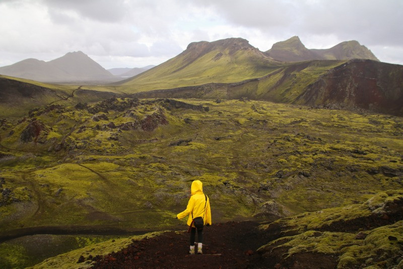 Iceland weather can be rainy during certain seasons