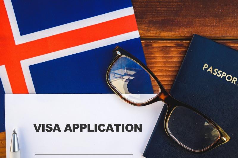 Visa application for Iceland documents