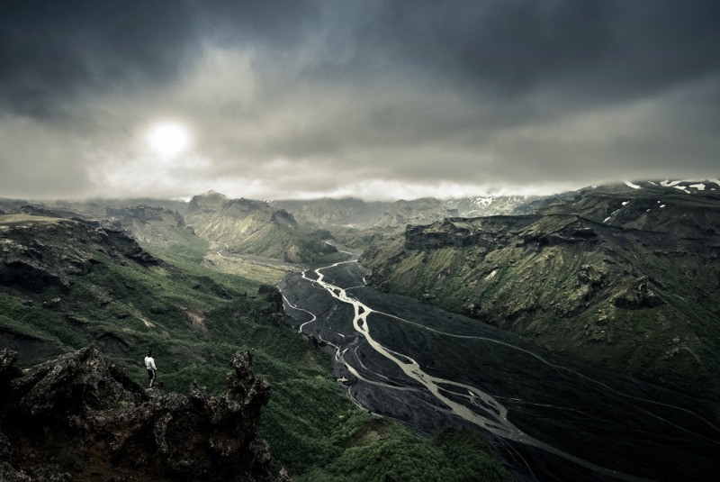 Thorsmork valley in Iceland's highlands