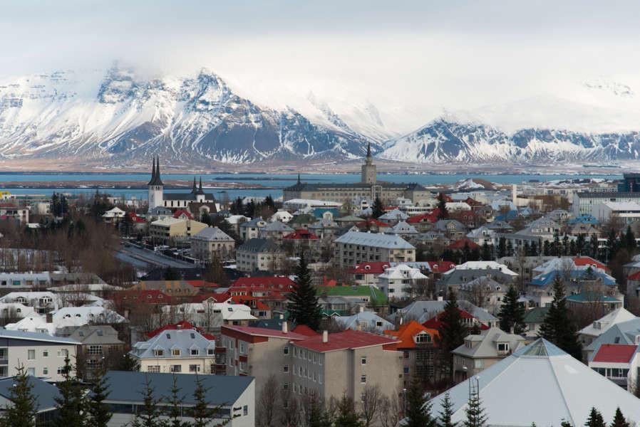 Vistas de Reikiavik desde Perlan