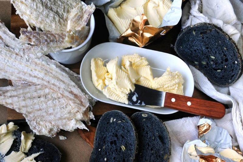 pescado seco, parte de la gastronomía islandesa