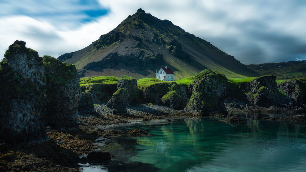 paesaggio della penisola di Snaefellsnes