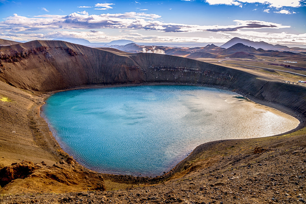 Viti Crater in Askja, it is not in the Icelandic Ring Road but it is a great side trip.