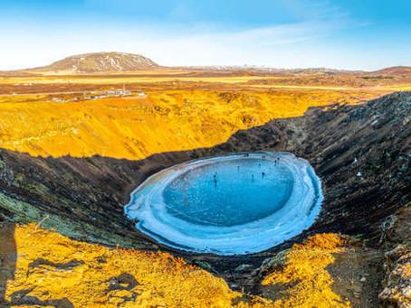 Kerid Islandia: La Imponente Caldera y Cráter Volcánico