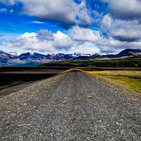 Discover the Gravel Roads Map in Iceland