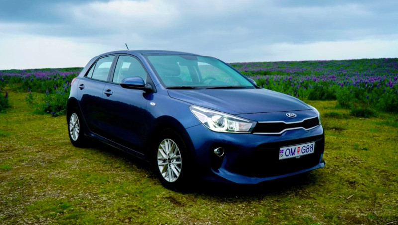 The Kia Rio is one of the best road trip cars
