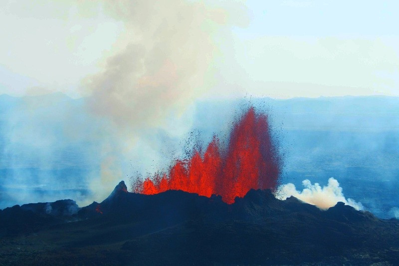 The terrifying Bardarbunga eruption is the most recent of volcanoes in Iceland