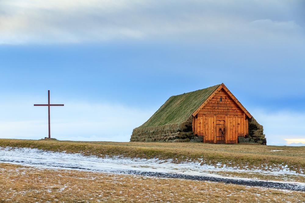 Casa islandese tradizionale vicino al Golden Circle in Islanda