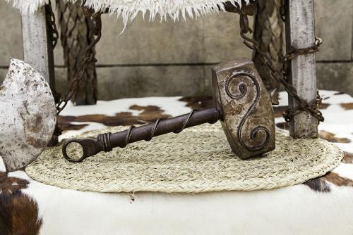 Mjolnir, the hammer of the god Thor