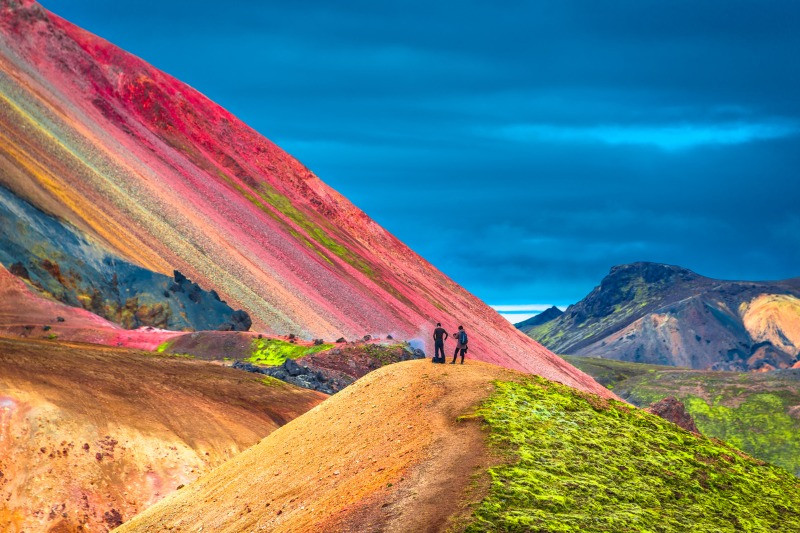 Colorful mountains of Landmannalaugar