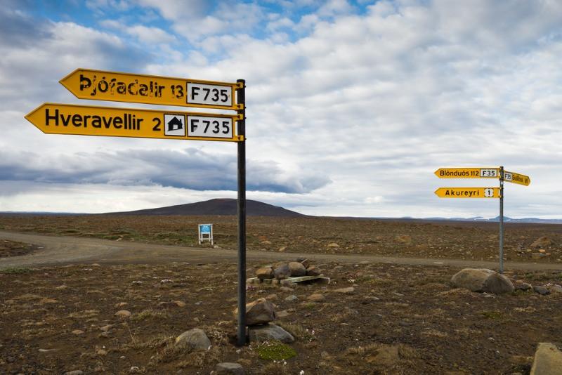 Guía Carreteras Islandia