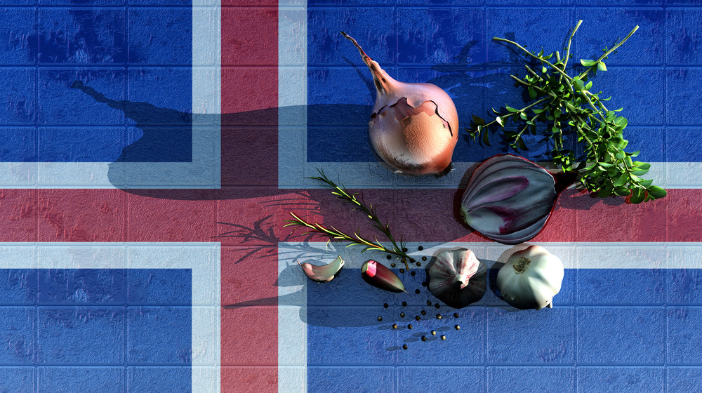 Vegetarian in Iceland: Food options for everyone on a table