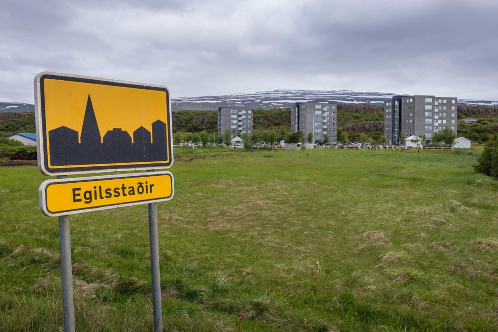 Egilsstadir est islandese - ring road Islanda