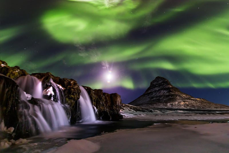 Northern Lights Iceland Kirkjufell