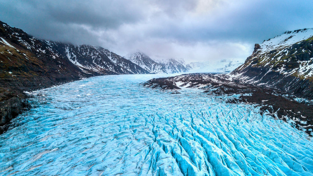 Inmenso glaciar en Islandia