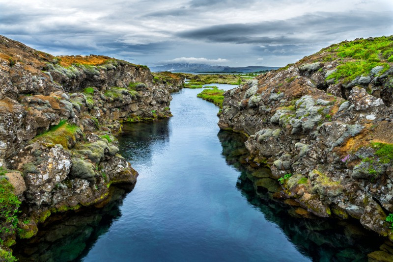 þingvellir National Park in the Golden Circle, Iceland