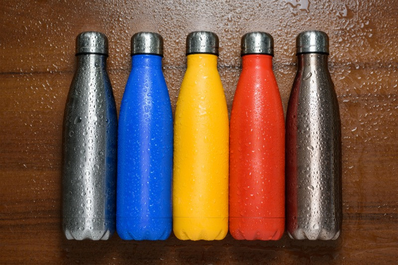 Road trip packing list reusable water bottles