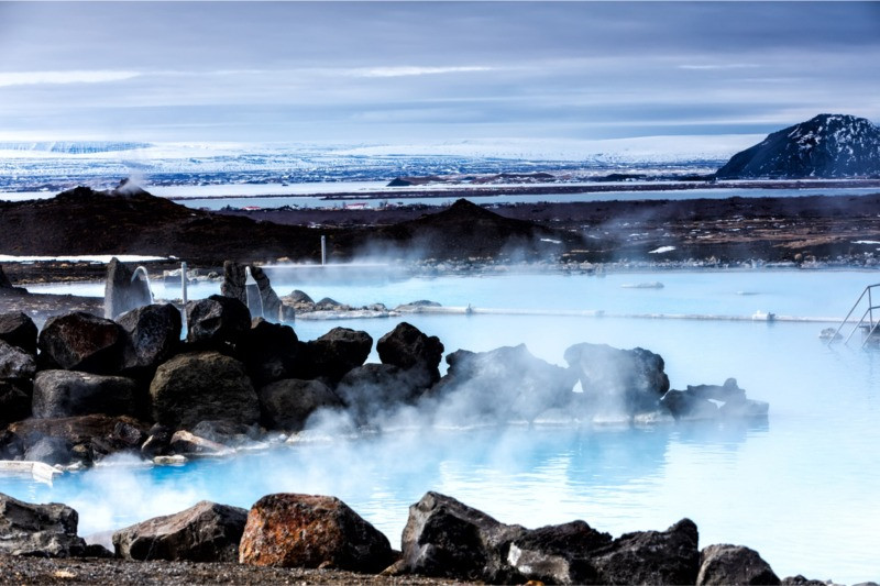 Myvatn Nature Baths in Iceland