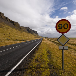 Iceland's Road Signs and Particularities