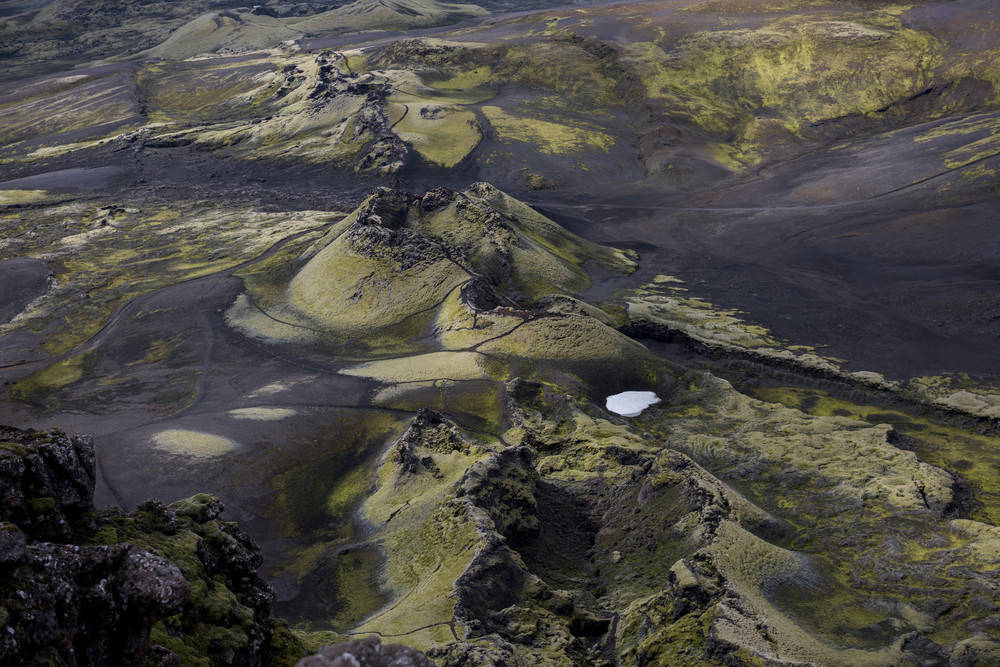campo di lava vulcano Laki