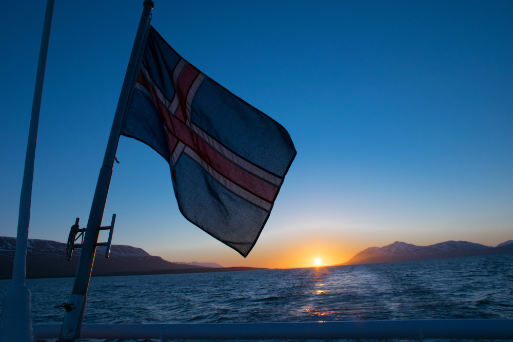 Iceland is one of the few countries with the midnight sun